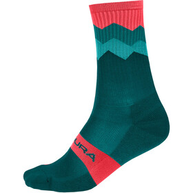 Endura Spikes Chaussettes Homme, spruce green
